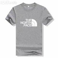 sportkleidung schwimmen großhandel-Männer die T-Shirts Frauen Kleidung Badeshorts Gesicht Sportbekleidung Nordpolo Männer plus Größe Kleidung T-Shirt Mode Streetwear Gym Kleidung