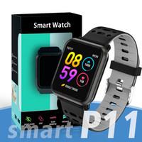 часы для розничной упаковки оптовых-2019 Р11 новейший водонепроницаемый браслет смарт-часы, фитнес трекер сердечного ритма артериального давления сна ПК N88 по Smartwatch с розничная упаковка