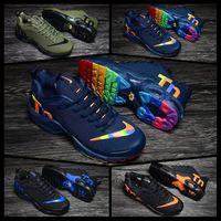 zapato de correr de malla de piel para mujer al por mayor-2019 Nike TN vapormax AIR MAX men women mujeres originales de los hombres Mercurial Tn Además de los zapatos corrientes Chaussures Femme Tn zapatillas de deporte de la mujer   KPU