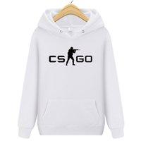 globale kleidung großhandel-Cooles CS GO Gamer Sweatshirt Heißer Counter Strike Global Offensive CSGO Männer Hoodie Tops Qualität Markenkleidung Lustiger gemütlicher Hoodie