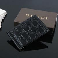 kimlik kartı kutusu tutacağı toptan satış-Yeni Kadın Moda Klasik Tasarım Casual Ultra-ince cüzdan Kredi Kartı KIMLIK Tutucu Para Klip kutusu ile