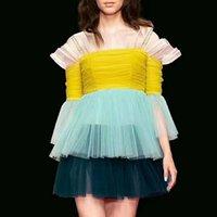 ea3361d11ed Wholesale off shoulder elegant knee high dresses for sale - Strap Mesh  Dresses For Women Flare