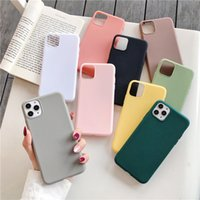 Wholesale iphone case 5s for sale – best Color soft Silicone Case For iPhone Pro xs max xr s se s plus cover Coque
