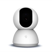Wholesale remote screen view for sale – best Mijia Smart IP Camera Pan tilt Version P WiFi Connection Night Vision Degree View Motion Detection White