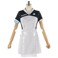 Wholesale code uniform resale online - Detroit Become Human Cosplay Costume KARA Uniform Dress Code AX400 Agent Halloween Carnival Cosplay Costumes Outfit