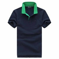plus größe männer polos großhandel-2019 plus g 2xl größe eden stickerei polo shirts männer meduse mode design kurzen ärmeln marke stretch polos top verkauf park t-shirt
