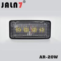 faisceau de lumière inondation achat en gros de-Le phare à LED s'adapte dans le boîtier d'origine Plug Play Lampe JOHN DEERE R161288 RE37450 Rectangulaire 20W 4lignes Faisceau projecteur blanc