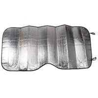ingrosso parabrezza anteriore-Copri-auto Parabrezza Anti-ghiaccio Protezione per il ghiaccio Finestra anteriore Visiera Coprire Parasole Protezione Argento