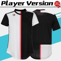 Wholesale seasons soccer jersey for sale - Group buy Player Version RONALDO DYBALA home Soccer Jerseys New season Soccer Shirts KEAN Football Uniforms On sale