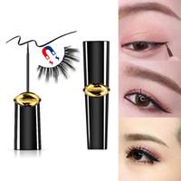 en iyi kaş makyajı toptan satış-Manyetik Eyeliner, Sahte Kirpikler (8ML) ile Kullanılmak İçin Manyetik Kirpikçi Uzun ömürlü, bulaşmaya dayanıklı ve su geçirmez, en iyi kaş makyajıdır
