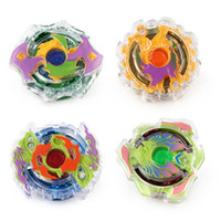 Wholesale super suits resale online - Candy Color Spinning Gyro Persistent Rotation Kit Super Battle Match Transparent Whipping Top Suit Beyblade Children Toy jy O1