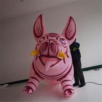 ingrosso fabbrica personalizzata-Prezzo di fabbrica decorazione gigante gonfiabile personalizzato evento maiale gonfiabile con stampa libera di marchio per il parco di pubblicità