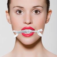boca do músculo venda por atacado-3 pcs corretor de exercício sorriso melhorar a boca levantando lábio forma aumento compensador ferramentas de beleza face lifting tools estimulador muscular facial