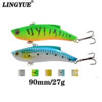 Wholesale shots lures for sale - Group buy LINGYUE cm g Vib Vibration Hard Bait Perch Killer Fishing Lures Sharp Hooks Crankbaits Wobblers Long Shot Bait T191020
