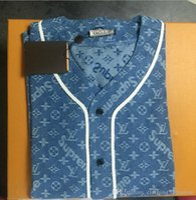 neue vintage jacke großhandel-Abschnitt der Cowboy Jacke männlich neue Freizeitjacke Jugend koreanischen Herren Designer jeans2019 LOUΙS VUΙTTON