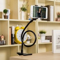 сотовый телефон стоит настольный оптовых-360 Rotating Flexible Long Arm cell phone holder stand lazy bed desktop tablet car selfie mount bracket for iphone 6,for samsung