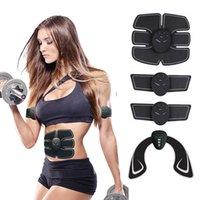 EMS Wireless Fitness Abdominal Training Massager Smart Muscle Stimulator Butt Hip Lifting Body Shaping Slimming Massager Machine Supplies