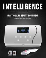 maquinas laser para arrugas faciales al por mayor-Máquina de RF fraccional inteligente Thermage Radiofrecuencia Estiramiento facial Estiramiento de la piel Eliminación de arrugas Máquina de matriz de puntos RF