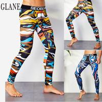 Wholesale yoga pants men sexy resale online - New arrival men s yoga pants fitness high quality sexy comfortable sports pants male yoga leggings elastic waist trousers