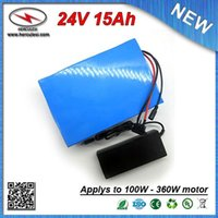 chargeurs classiques achat en gros de-Batterie de lithium 15Ah avec 3.7V 2000mah 18650 cellules 15A BMS + 2A chargeur