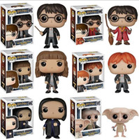 Wholesale figures toys harry potter online - Funko Pop Harry Potter toys Quidditch Hermione Action Figures Collection Model toys Birthday Christmas Gift LJJK1547