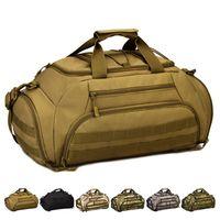 açık cam sırt çantası toptan satış-35 L Çok Fonksiyonlu Sırt Çantası Camo Seyahat Depolama Sırt Çantası Erkekler Ve Kadınlar Moda Açık Kamp Çantası Sıcak Satış 71dnI1