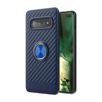a2 cep telefonu toptan satış-Samsung Galaxy için J4 Artı J6 Artı A6 Artı J2 Çekirdek A2 Çekirdek 360 Dönen Halka Araç Tutucu Cep Telefonu Kılıfı D