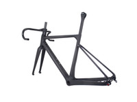 Wholesale road frames sale resale online - 2019 china factory new design Toray Full Carbon Fiber Gravel Bike Frame GR039 Bicycle GRAVEL frame factory deirect sale