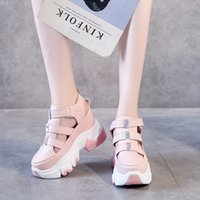 Wholesale candies wedges shoes resale online - Candy Colors Hollow Casual Platform Wedge Sandals Women Shoes Summer Cool Stealth Increase High Thick Sole Closed Sandals Women