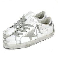 chaussures femme mode style achat en gros de-mode Golden Goose Ggdb vieux style baskets En Cuir Véritable Villous Derme Casual Chaussures Hommes Et Femmes De Luxe Superstar formateur 46