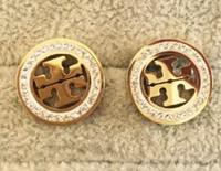 ingrosso nuovi orecchini caldi-Vendita calda nuovo design orecchini orecchino lettere orecchio marchi di alta qualità orecchini orecchino gioielli accessori per le donne regalo di nozze spedizione gratuita