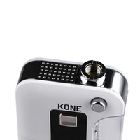 Wholesale electronic express resale online - Fast express vapor box mod kit electronic cigarette KONE BOX with LED light