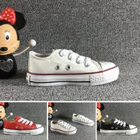 Wholesale shoes 34 for sale - New Unisex Low Top High Top Adult Women s Men s Big Kids star Canvas Shoes colors Laced Up Casual Shoes Sneaker shoes size
