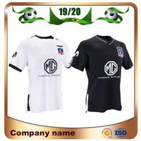 deportivo джерси оптовых-19/20 Футбольные майки Colo Colo 2019 Club Social y Deportivo Colo-Colo home white Комплект футболки Away черная футбольная форма Camiseta