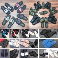 Wholesale mens gray flip flops for sale - Group buy DHL SS Mens Womens Designer Rockstud Rubber Slider Sandals Slippers Slides Alcantara and Rubber Flip Flop Designer Shoes men