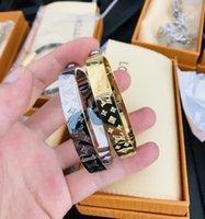 ingrosso bracciali in oro per donne-Nanogrammo Marchi progetta acciaio bracciale bracciali in oro rosa braccialetto d'argento titanio Bracciale donne di Louis monili di lusso