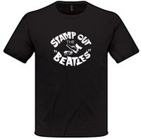 Wholesale stamp online - STAMP OUT THE BEATLES T Shirt S XXXL Mens Womens GEORGE HARRISON