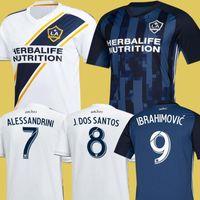 Wholesale la soccer for sale - Group buy NEW IBRAHIMOVIC LA Galaxy jersey soccer Thailand Los Angeles Galaxy GIOVANI COLE ALESSANDRINI CORONA football kit top shirts