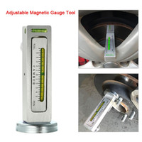 Wholesale toyota cars trucks resale online - Universal Adjustable Magnetic Gauge Tool Camber Castor Strut Wheel Alignment Truck Car Camber Castor Strut Wheel Alignment Auto