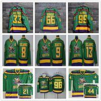 Wholesale Anaheim Mighty Ducks Movie Dean Portman Greg Goldberg Fulton Reed Gordon Bombay Charlie Conway Adam Banks Jerseys