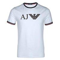 kuş stili gömlek toptan satış-19SS Yeni Stil Kuş Tüy Baskı Serisi Tasarımcı T Shirt MARCELO BURLON Moda T Gömlek