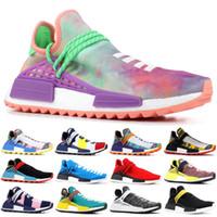 7f249daff 2019 NMD Human Race Pharrell Williams X BBC Yellow Black Nerd Sports  Running Shoes designer Men Shoes Women sneakers With Box
