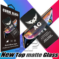 Wholesale plus frosted film for sale – best Top selling Frosted Tempered Protector Film Matte Glass screen For iPhone s7 plus glass X rs xs glass with retail package