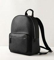 ingrosso marche borse mens-Europa Designer Brand N41612 Damier Cobal Mens Zaini Borsa da scuola di alta qualità
