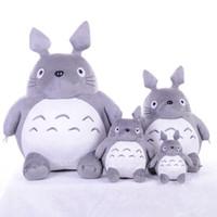 ingrosso giocattoli molli totoro-20cm My Neighbor Totoro Peluche Animali imbalsamati I migliori regali Giocattoli per bambini Peluche per i bambini Giocattoli Regalo Animazione Doll
