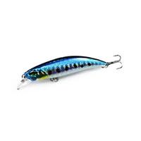 Wholesale minnow floating lure online - 1PCS Floating Minnow Fishing Lure Laser Hard Artificial Bait D Eyes cm g Fishing Wobblers Crankbait Minnows Y18101002