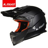 Wholesale ls2 helmet off road for sale - Group buy LS2 MX437 Off Road helmet biker safety casco ls2 adventure cross motorcycle Helmet Newest motorbike without visor