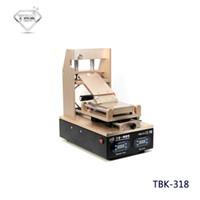 máquina removedor de pegamento al por mayor-TBK-318 Separador de pantalla LCD de vacío + Precalentador + OCA Glue Polarizer Remover 3 en 1 Pantalla LCD de teléfono móvil Reacondicionar máquina