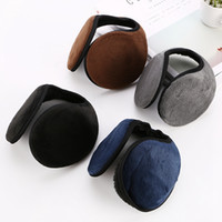 Wholesale earmuffs for sale - Group buy Fashion Unisex Earmuffs Soft Solid Color Men Ear Muffs Creativr Woman Plush Ear Cover Protector Ear Warmers TTA1910