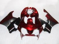 abs motorrad verkleidungen verkauf großhandel-Heißer Verkauf Verkleidungskit für Honda CBR900 RR Verkleidungen 98 99 CBR900RR rotes schwarzes Motorrad Set CBR919 1998 1999 KJ56